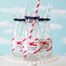 vintage airplane baby shower vintage airplane baby shower cupcake toppers 24 pc