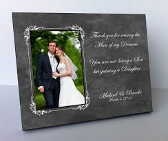 wedding gift groom parents wedding gift parents of the groom personalized picture