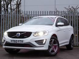 volvo xc60 white 2013 63 volvo xc60 d5 215ps r design lux nav 5dr awd geartronic