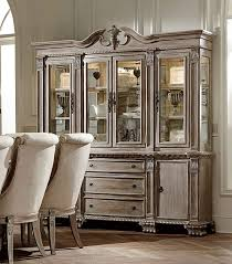 homelegance orleans ii china cabinet white wash 2168ww 50 55