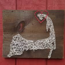 cape cod string art can be customized nail art wall art