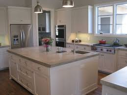 island kitchen counter best 25 concrete kitchen countertops ideas on farm
