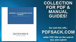 johnson 115 outboard motor manual video dailymotion