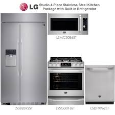 discount package lg studio 4 piece stainless steel kitchen package