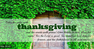 Psalms Of Praise And Thanksgiving 7 More Thanksgiving Bible Pictures Keithferrin Com