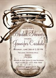 jar invitations jar bridal shower invitations 25 jar invitations