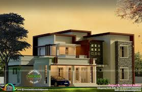 box type modern house by build arck builders kerala home box type