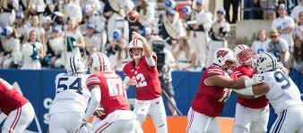 football wisconsin athletics hornibrook sparks badgers to 40 6