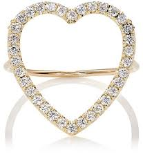 heart ring meyer large open heart ring barneys new york