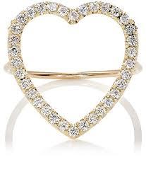 heart rings diamond images Jennifer meyer large open heart ring barneys new york