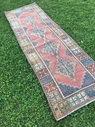Aztec Runner Rug Rustic Decor Vintage Embroidery Turkish Kilim Runner Rug Unusual