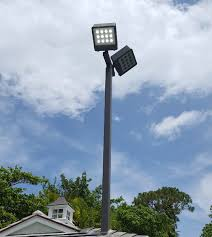utility pole light fixtures led volleyball court lighting 20 avg fc quick ship recreation