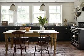 modern farmhouse kitchen black cabinets is black the next big kitchen trend design studio