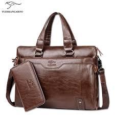 serviette de bureau pour homme 2018 marque de luxe hommes sacs messenger hommes sac à en cuir