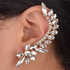 one ear earring new women statement vintage stud earrings