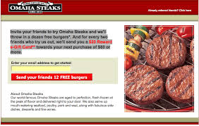 omaha steaks gift card omaha steaks duct marketing