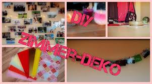 Schlafzimmer Deko Pink Diy Zimmer Deko Youtube