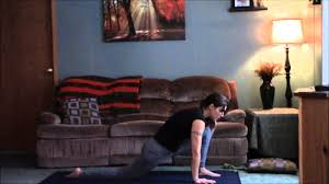 living room yoga beginner class youtube