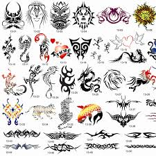 aliexpress com buy sale 53 designs totems airbrush tattoo