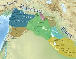 Ancient Middle East Map by Mari Ancient History Encyclopedia