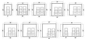 dimensions of a 2 car garage garage sizes quality dogs