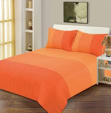 Orange Bed Sets Orange Bedding White Bed