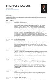 Territory Sales Manager Resume Sample by General Sales Manager Resume Samples Visualcv Resume Samples