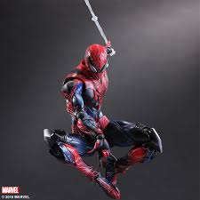 marvel universe variant play arts kai spider man square enix store
