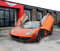 orange mclaren used mclaren cars bradford second hand cars west yorkshire