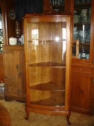 Curio Cabinets Ebay Wood Curio Cabinet Curio China Cabinet Curio Cabinets Image Of