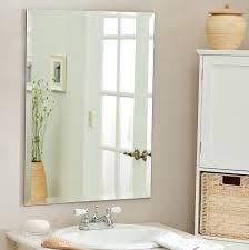 beveled bathroom vanity mirrors home design ideas