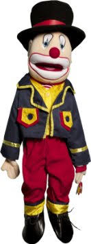 clown puppets for sale buy toys gs4907 28 inch clown boy puppet in cheap