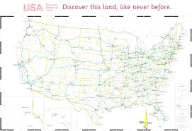 United States Interstate Map by Usa Driving Map Evenakliyat Biz