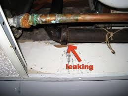 kitchen leak under sink how to change a sink faucet dripping