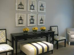 light grey color on wall design ideas has black sidetable with