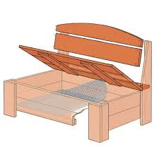 Plans For Building A Wood Bench by Bedroom Wonderful Wood Bench With Storage For Simple Picnic Home