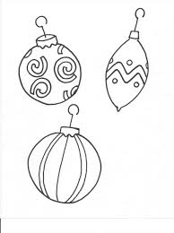 ornament coloring page cut out temasistemi net