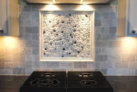 rock kitchen backsplash kitchen river rock kitchen backsplash great home decor unique