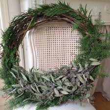 little farmstead diy winter wreath farmhouse christmas