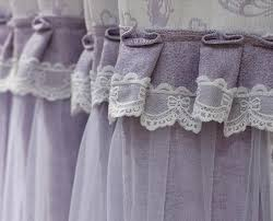 Butterfly Lace Curtains Lavender Butterfly Chenille Romantic Princess Shabby Chic Curtains