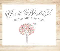 best wishes for wedding printable best wishes wedding card instant card