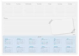 desk pad calendar 2017 plain desk pad calendar prime advertising for free well almost