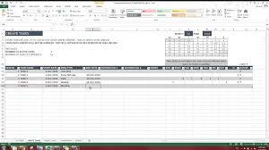 Task Manager Excel Template Task Manager Advanced V1 Product Demo