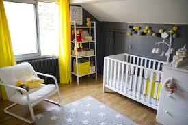 chambre b b blanche et grise captivating deco jaune chambre bebe vue cour arri re fresh in