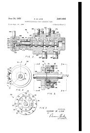 patent us2601405 electrohydraulic ship steering gear google