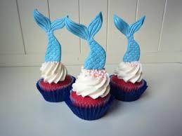 mermaid cupcakes how to make mermaid cupcake toppers cakejournal