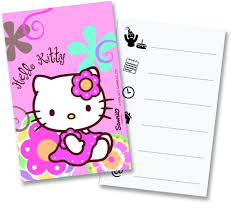 Invitation Card Hello Kitty All Products Hello Kitty Funny Balloons U0026 Party Supplies