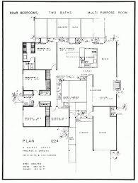 Modern House Plans Designs by 26 Best Eichler Floor Plans Images On Pinterest Modern Floor