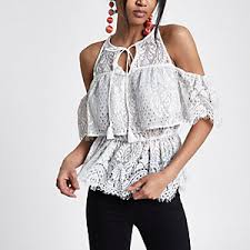 sleeve lace blouse lace tops sleeve lace top tops river island