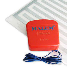 malem ultimate bed side bedwetting alarm with pad bedwetting store